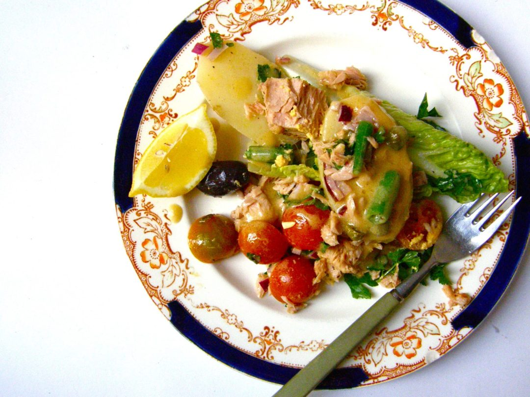 Salade Nicoise a la Julia Child