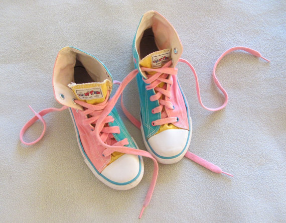 Punky Brewster Shoes From The  S