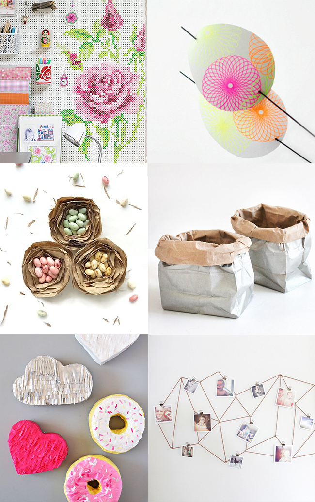 six cute crafty things to make