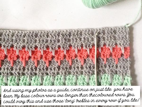 Tutorial Larksfoot Crochet And A Larksfootalong