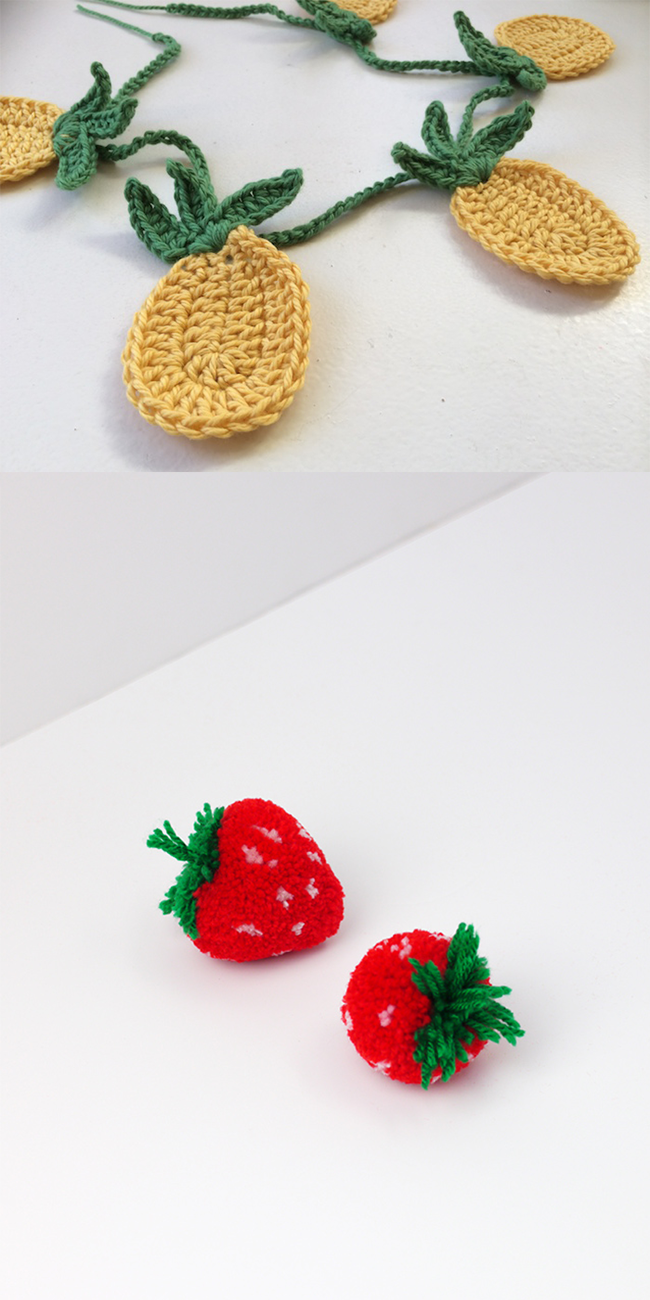 :: Round-Up * Eight Cute Fruity Things To Make