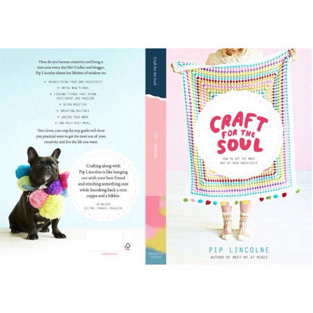 Have you seen the cover of my BRAND NEW BOOK?! #craftforthesoul OMG!!!