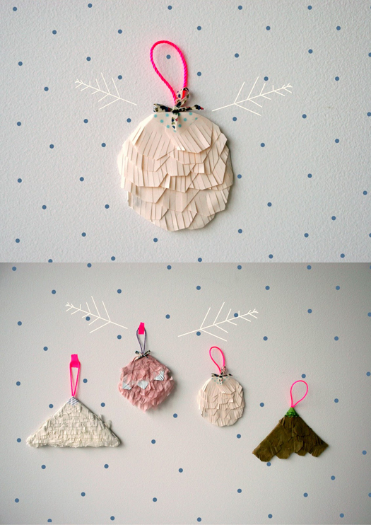 papercraft decorations