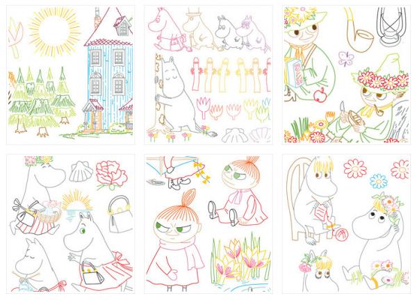 Moomin Embroidery