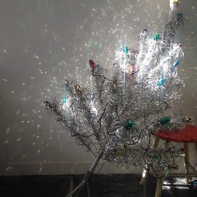Someone got a little bit too sparkly last night...