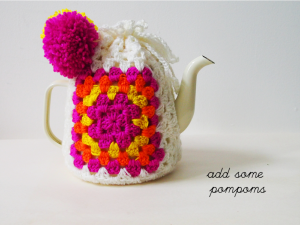 add pompoms
