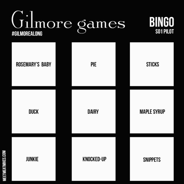 gilmore games bingo s01 pilot