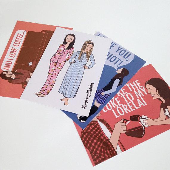 gilmore girls card set