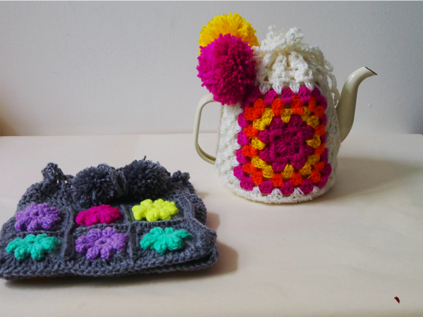 two tea cosies