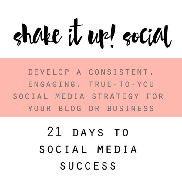 shake it up social