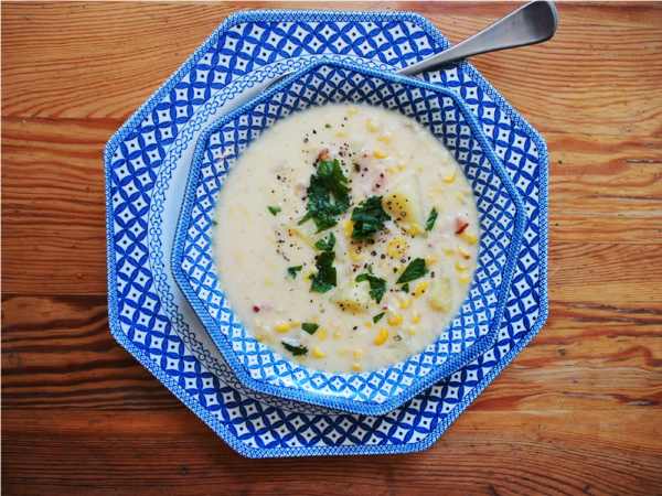 corn chowder two
