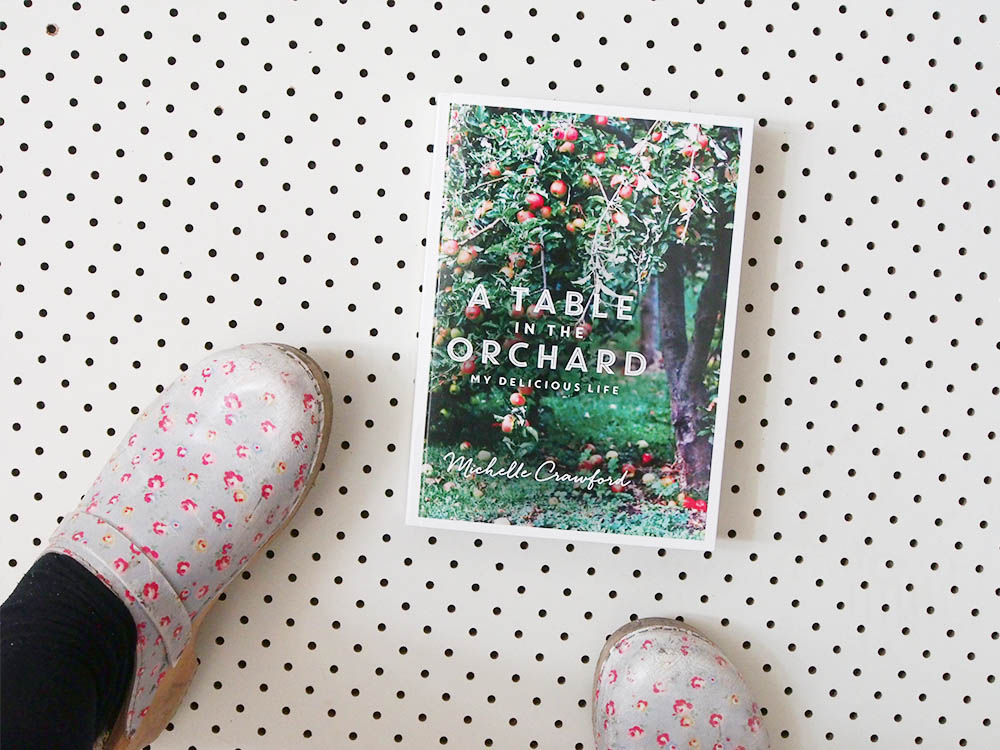 michelle crawford a table in the orchard cover