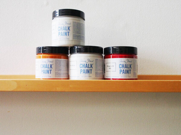 chalk paint shelf