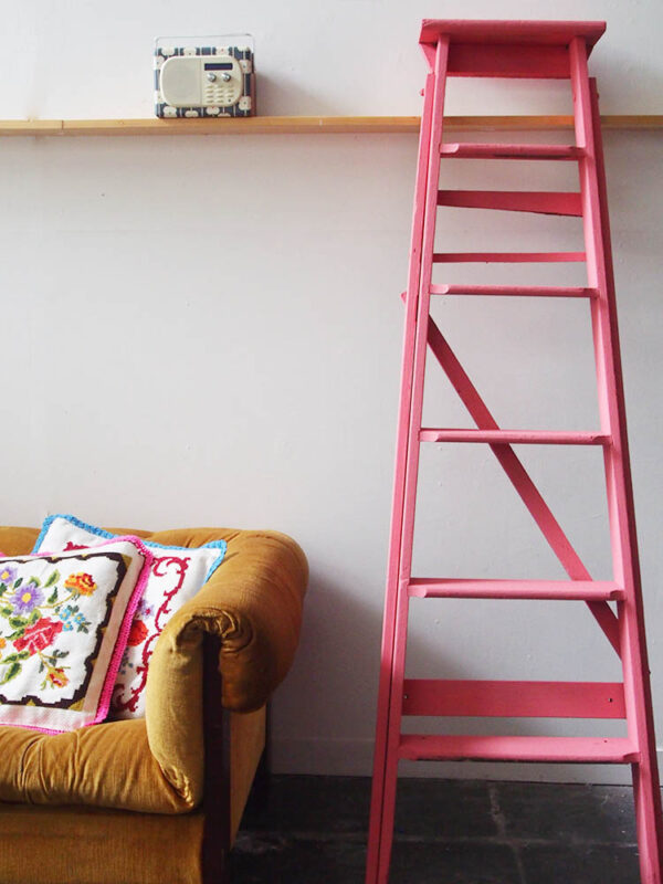 ladder after