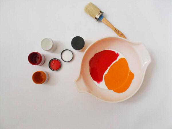 mix paint start