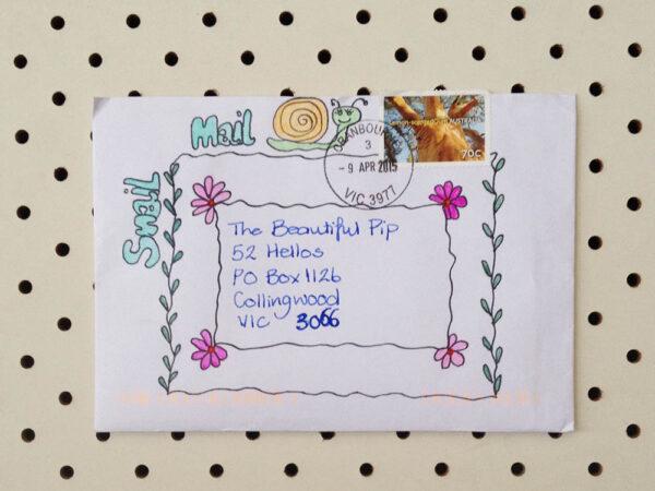 sarah envelope