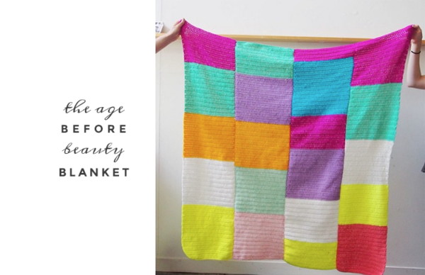 age before beauty blanket by pip