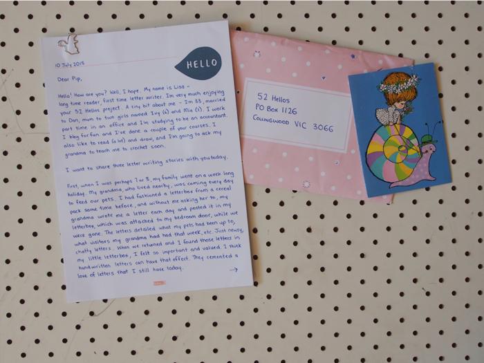 lisa letter one