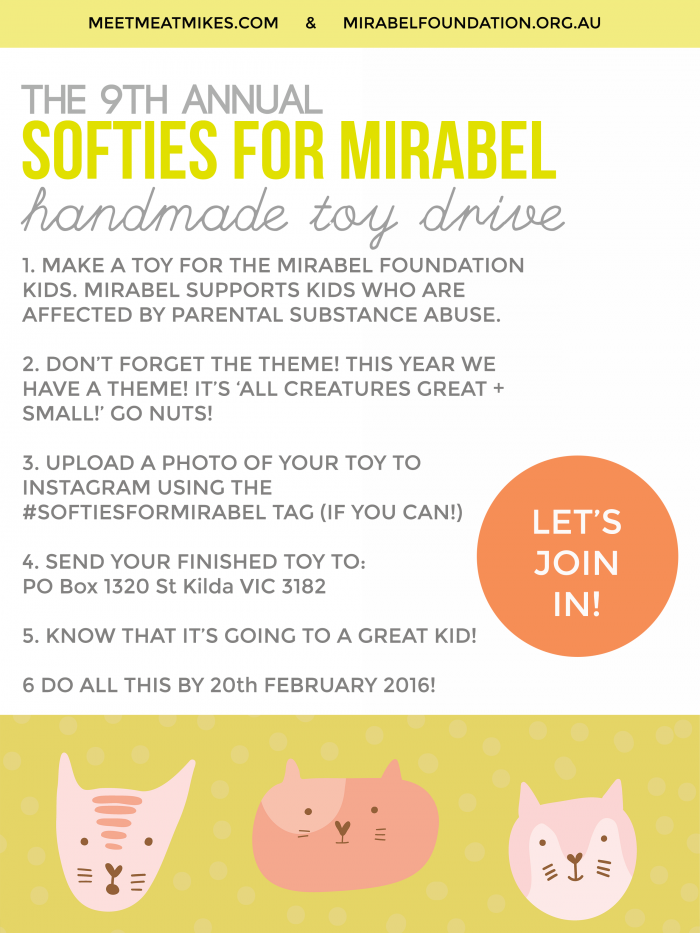 SOFTIES FOR MIRABEL 2015 A42