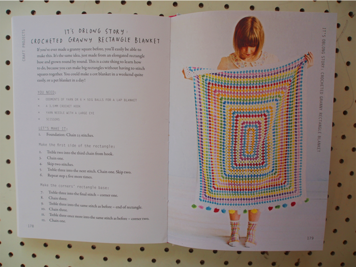 Make The Oblong Story Granny Rectangle Blanket From Craft For The Soul