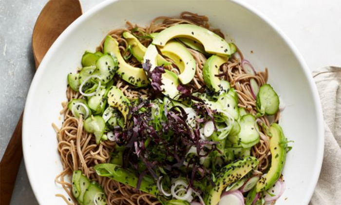 cold soba noodle salad from food network