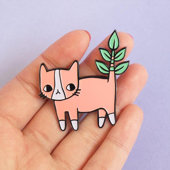 PONY PEOPLE kitty pin