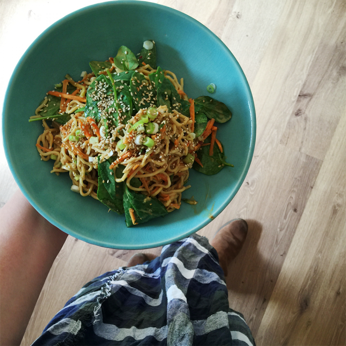 sesame noodles two