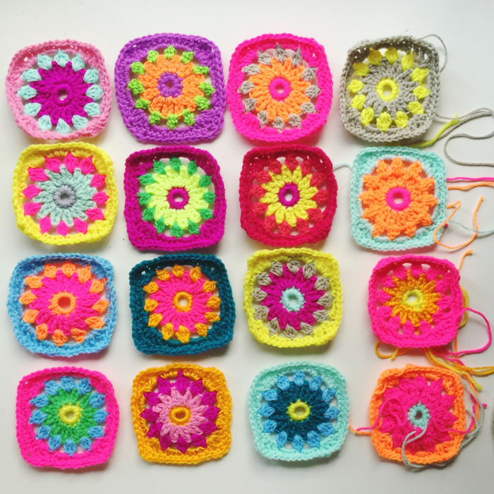 granny squares by pip