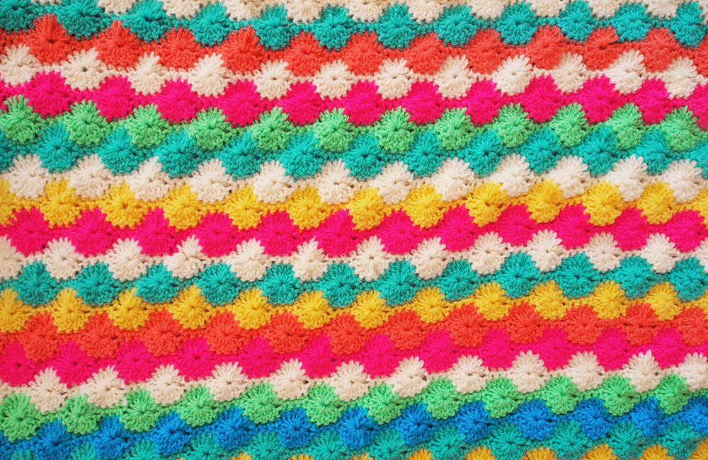 Crochet A Harlequin Blanket Videos Meet Me At Mikes
