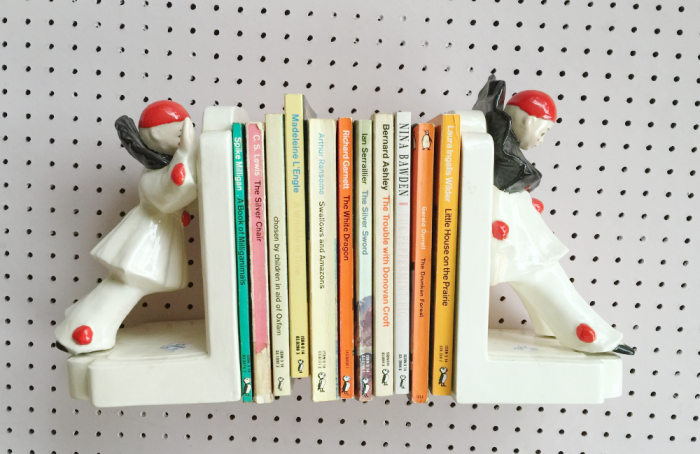 B IS FOR BOOKENDS