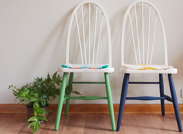 annie sloan unfolded delinquent chair makeover 2