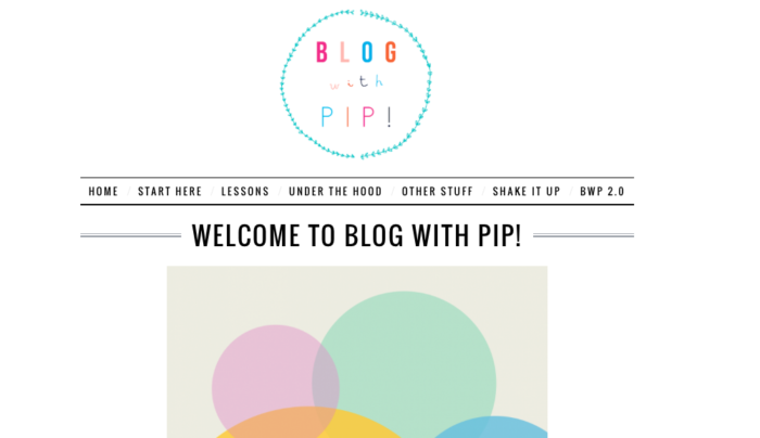 welcome to blog with pip