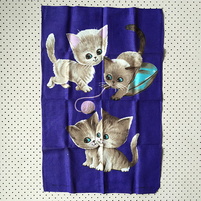 four-kittens-tea-towel