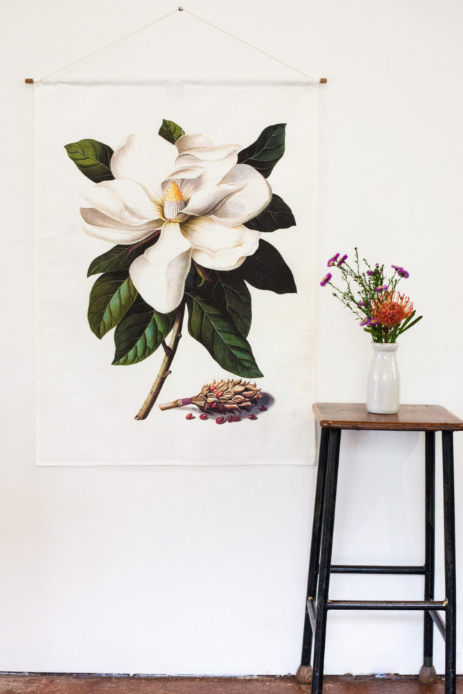 Magnolia Giant Wall Art by My Bearded Pigeon