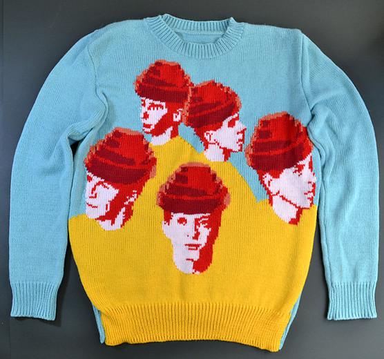 Amimono Horinouchi Devo sweater
