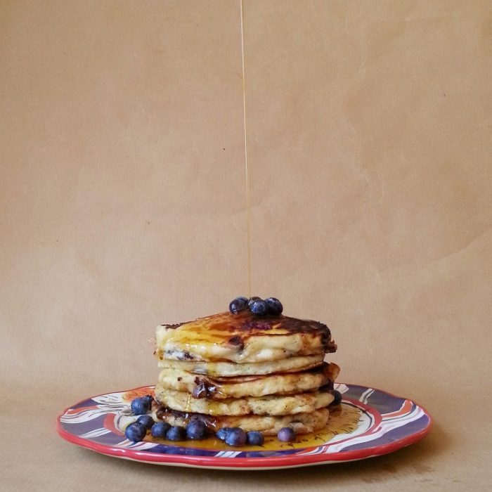 blueberry-pancakes-little-library-cafe