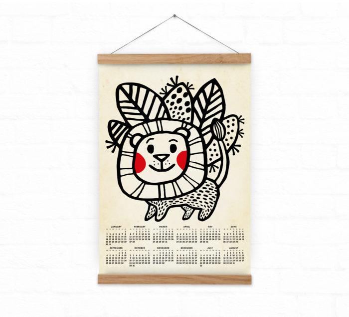 DURIDO made the Lion Calendar
