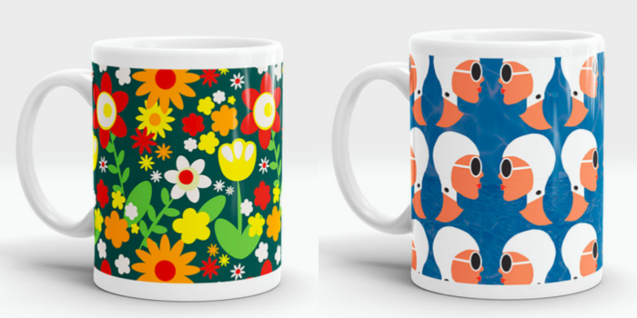Gail Myerscough mugs