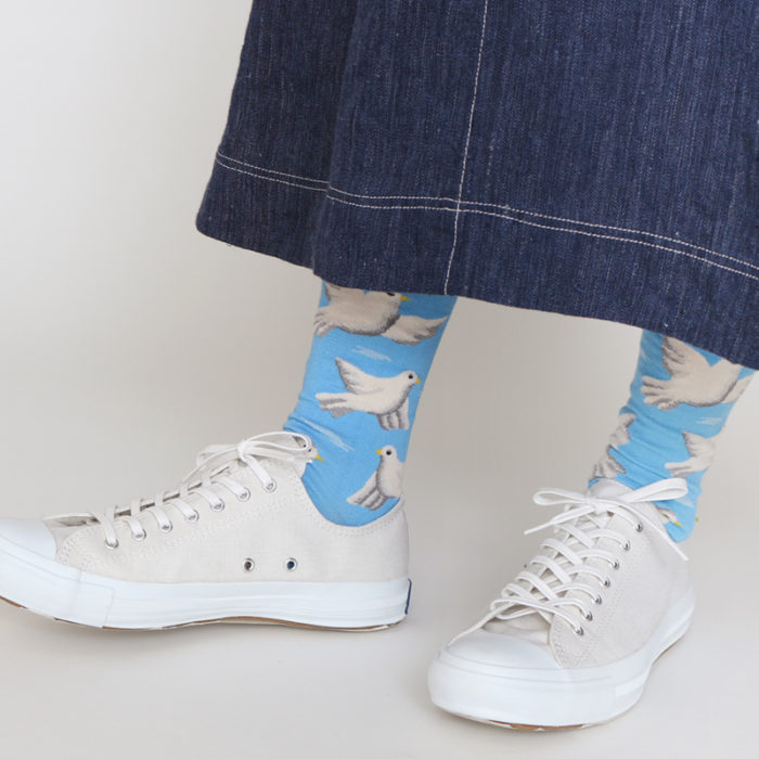 Envelope shop Pigeon Socks