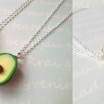 avocado friendship necklace