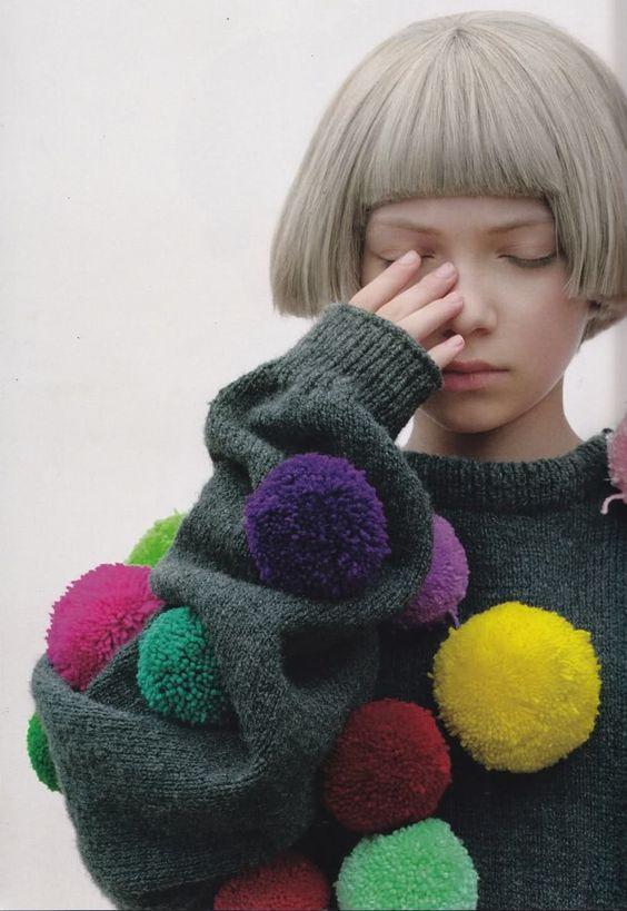 Comme des Garcons - Pom Pom sweater
