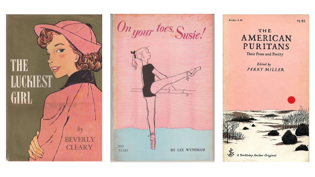 Pink Book Covers