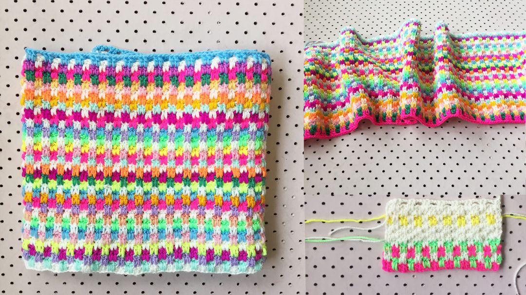 Weekend Project How To Crochet A Snuggle Stitch Blanket
