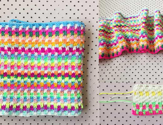 Snuggle Stitch blanket