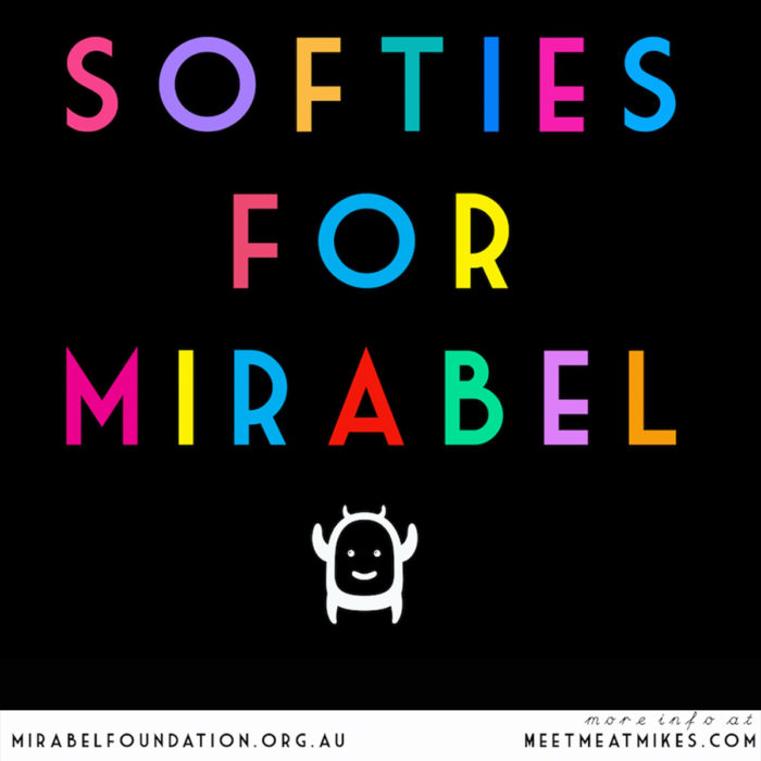 Softies For Mirabel - meetmeatmikes.com