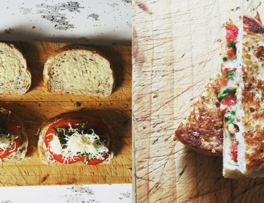 The best tomato and cheese sandwich