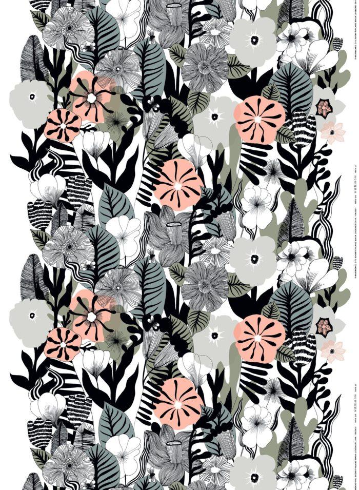 Marimekko Kasvu cotton fabric