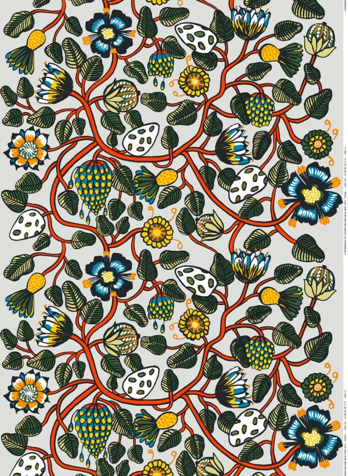Marimekko Tiara cotton fabric