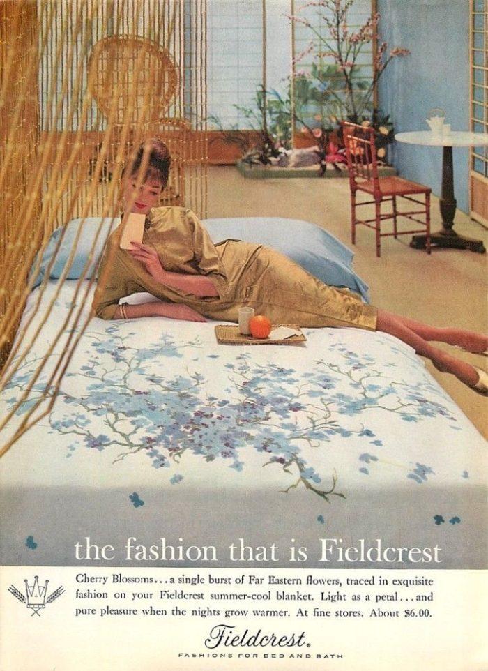 Fieldcrest ad