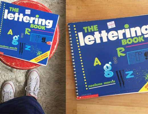 The Lettering Book